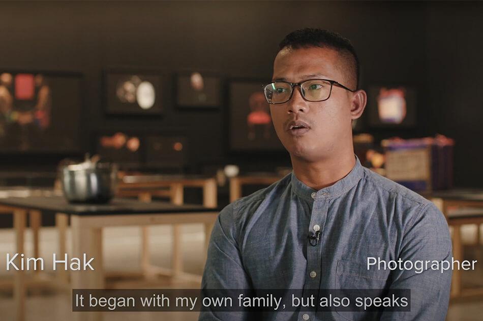 Alive, by Cambodian artist Kim Hak
