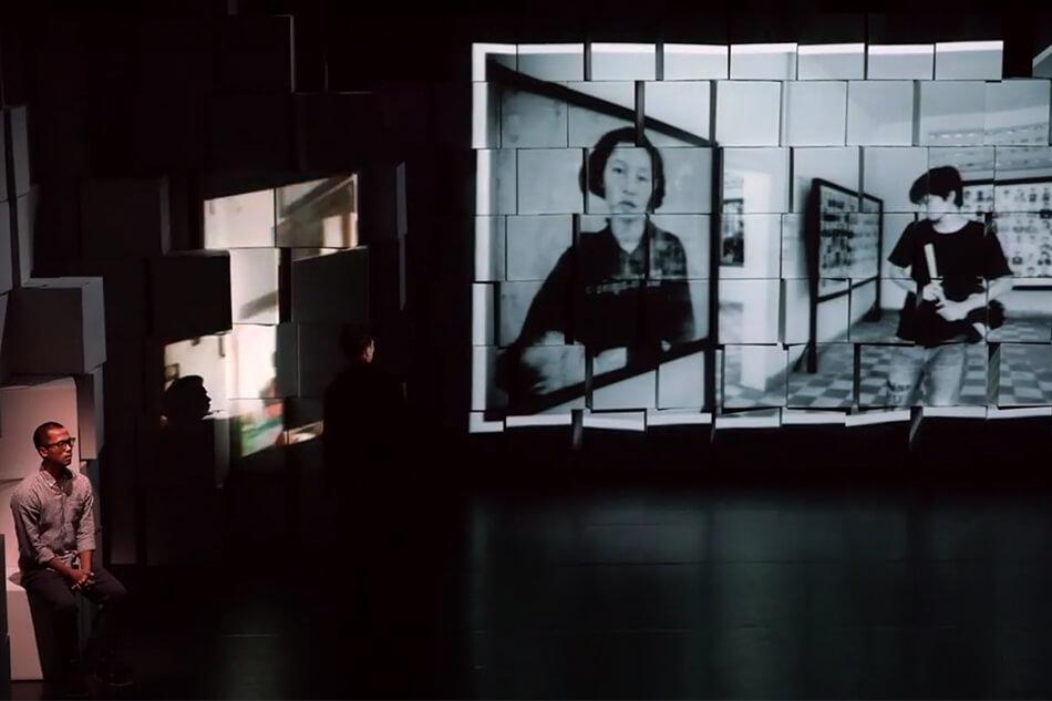 """Cross Transit"", Kim Hak has done collaboration <br />with Japanese choreographer, Akiko Kitamura"